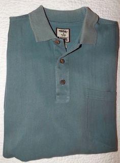 Tommy Bahama Men's Short Sleeve Shirt Medium Green #TommyBahama #ButtonFront