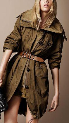 burbery parka coat <3