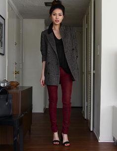 Shop this look on Kaleidoscope (pants, coat, sandals) http://kalei.do/Wjh21NEYcDIQJ5kF