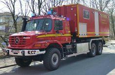 MB ZETROS fire deprt truck