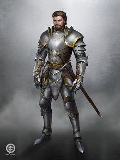 Knight Concept by EmilGoska on DeviantArt