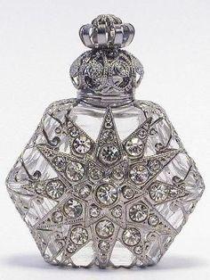 Czech Vintage Perfume Bottle. Re pinned publicly by DianesOils.com :)  #PerfumeBottle #DianesOils