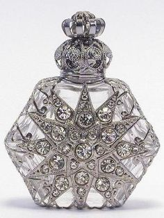 Czech Vintage Perfume Bottle. Re pinned publicly by DianesOils.com :) #PerfumeBottle #DianesOils