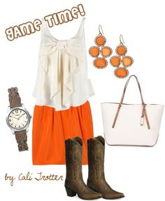 Go Vols!, created by calitrotter on Polyvore