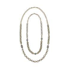 Trésors Chain + Pavé Necklace Set https://www.chloeandisabel.com/boutique/tiffanihamilton
