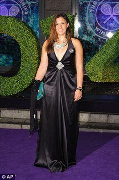 Dressed to impress: 2013 champion Marion Bartoli... dressed by www.havingaballdresshire.co.uk