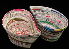 Upcycling old magazines