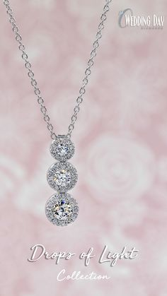 7d10e027d Our exclusive Drops of Light Halo Pendant will take her breath away with of ECO  4 Lab Created Diamonds, suspended on an sterling silver adjustable chain.