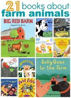 21 Books About Farm Animals from No Time for Flash Cards