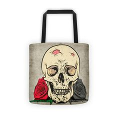 """Women's Tote Shoulder Bags Handbags Purse  Bring your favorite design everywhere you go.     • 100% spun polyester weather resistant fabric  • Dual handles 100% natural cotton bull denim  • Bag 15"""" x 15"""" (38.1cm x 38.1cm)  • Made in America"""