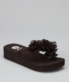 2b09babc2 Take a look at this Brown Hala Platform Sandal by Yellow Box Shoes on   zulily