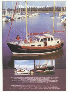 The Noreaster http://fisheryachts.com/