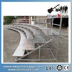 RK Assembly Festival Stage Hire Portable Aluminum Stage