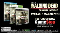 The Walking Dead - Survival Instinct Video Game Arrives in March