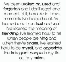 yes, to all my true friends and family:) I appreciate you more than you know:)