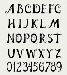 pretty fonts to draw by hand - Google Search | Drawing | Pinterest ...