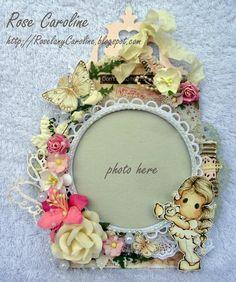 Photo frame Magnolia tag