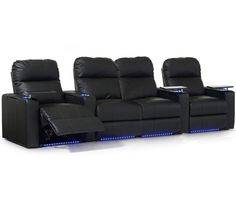 Octane Seating XL700 Series Turbo Theater Seating with Manual Recline