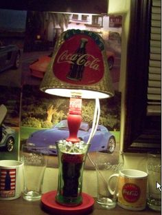 COOL COCA COLA LAMP (Image Heavy) - CRAFTSTER CRAFT CHALLENGES