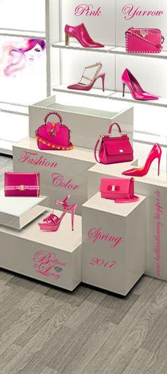 Brilliant Luxury by Emmy DE ♦ Fashion Color Spring 2017 ~ pink yarrow