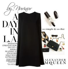"""""""Simple and classy."""" by nurinur ❤ liked on Polyvore featuring McQ by Alexander McQueen and Alexander McQueen"""