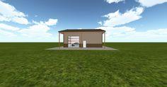 Cool 3D #marketing http://ift.tt/2jb6jEi #barn #workshop #greenhouse #garage #roofing #DIY