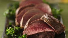 Herb Roasted Beef Tenderloin recipe from Betty Crocker Beef Tenderloin Recipes, Beef Tenderloin Roast, Roast Beef, Rib Roast, Beef Dishes, Food Dishes, Main Dishes, Dinner Dishes, Best Christmas Recipes