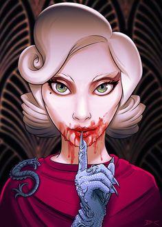 ArtStation - American Horror Story - Gaga, Daniel Conway