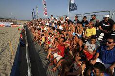 La passione del pubblico di Catanzaro per il Beach Soccer