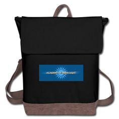 Lighted Canvas, Backpack Brands, Canvas Backpack, Back Strap, Retro Fashion, Black And Brown, Diaper Bag, Leather, Diaper Bags