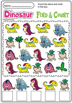 Free Dinosaur Printables for Preschool Dinosaur Worksheets, Dinosaur Theme Preschool, Dinosaur Printables, Dinosaur Activities, Preschool Writing, Free Preschool, Preschool Printables, Preschool Worksheets, Preschool Learning