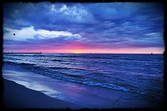 Łeba sunset