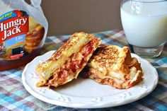 Peanut Butter and Jelly French Toast Sandwiches