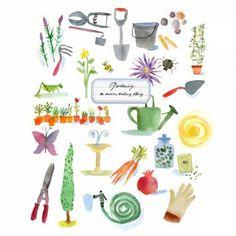 gardening LL illustrated by maria carluccio