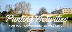 Exclusive Punting Activities for your Hen Party in Cambridge #henparty #hendo #henweekend #hennight #henpartyweekend #hendoweekend #henpartyfun #henorstaghour #henhour #henpartyideas #hendoideas #cambridge #cambs #punting #puntingactivities