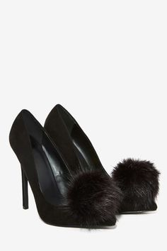 Privileged Playboy Puff Pump   Shop Shoes at Nasty Gal!