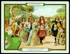All sizes | French Tradecard - Costumes of 1600 | Flickr - Photo Sharing!