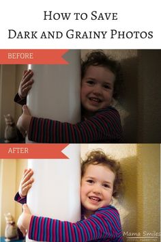 This step by step tutorial will help you use Photoshop to save those dark and grainy photos that you thought you were beyond help!