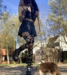 Skater Girl Outfits, Girly Outfits, Grunge Outfits, Dress Outfits, Cute Outfits, Fashion Outfits, Style Fashion, Mode Emo, Alter