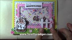 Shaker card using #Your Next Stamp Stamps & Dies