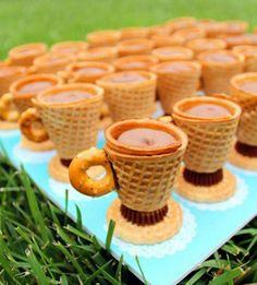 Peanut butter cone