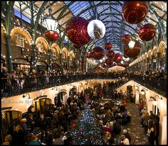 Christmas in Covent Garden London by JKmedia, via Flickr
