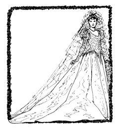 free Bride Clip Art =