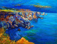 Ocean and cliffs by Boyan Dimitrov