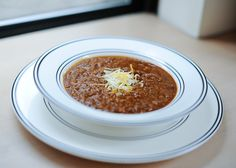 I love this Lean Star Lentil Chili recipe from the Fresh Cookbook for cold winter nights when all I want to do is curl up on my couch with a soft blanket and the heater on full blast. Other reasons I love … Continue reading → Fall Soup Recipes, Chili Recipes, Dinner Recipes, Healthy Recipes, Vegetarian Lentil Chili Recipe, Fashionable Hostess, Daniel Fast, The Fresh, Lentils