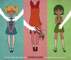 Toda niña pierde sus SUPERPODERES en estas situaciones. #MiPrimerAcoso | Reneé Chio.