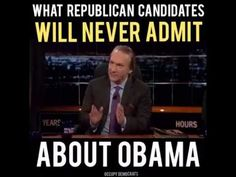 Bill Maher Rips GOP Candidates And Obama Haters For Saying 'Restore America' Back To Bush Era