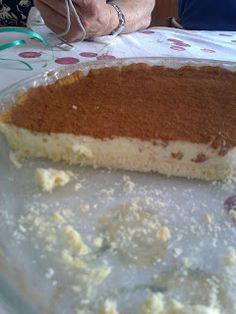 Torta di latte (melkterte) facile e leggera