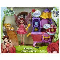 Amazon.com: Disney Fairies Rosetta's Pixie Kitchen: Toys & Games