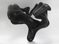 Print3d World: Los diseños impresos en 3D de Daniel Widrig en la 10ª edición de Collect. Haz clic en la imagen para ver otras piezas de Widrig.